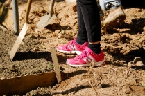 Fashion Flash: Die Bauleitung trägt rosa Schuhe