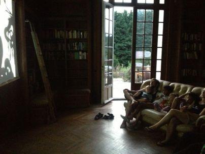 Kino-Abend in der Bibliothek