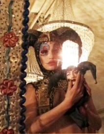 Harlekina (costume by Nina Haas)